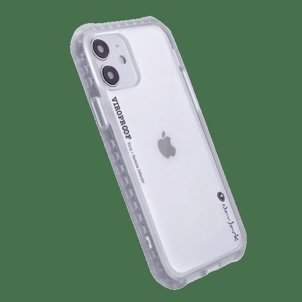 NavJack - ViroProof iPhone 12 Mini Anti-Viral Anti-Bacterial Shock Proof Protective Phone Case