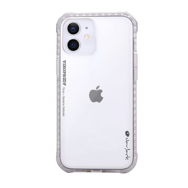 NavJack - ViroProof iPhone Antibacterial and Antiviral Shock Proof Case for iPhone 12 Mini