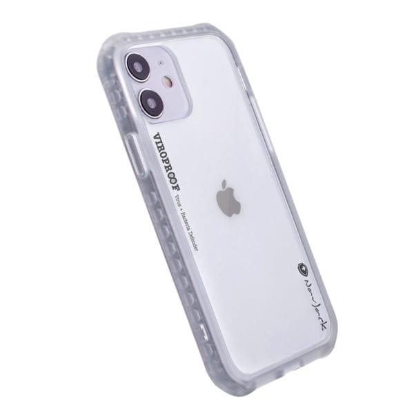 NavJack - Clear Viroproof iPhone 12 Mini Antiviral Antibacterial Protective Shock Proof Phone Case